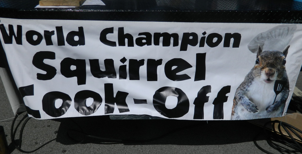 World Champion Squirrel Cook Off in Bentonville, Arkansas