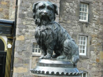 Greyfriars Bobby statue in Edinburgh, Scotland