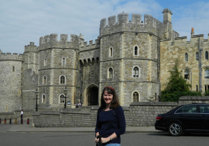 Me at Windsor Castle