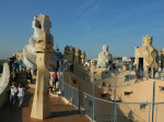 La Pedrera's Roof-Terrace in Barcelona, Spain
