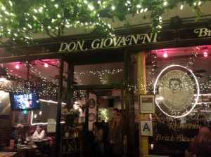The Don Giovanni Ristorante in New York