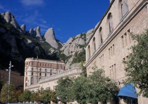 Montserrat in Catalonia, Spain