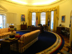 White House Replica at the Clinton Presidential Center