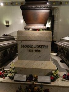 The Imperial Crypt, or Kaisergruft, in Vienna, Austria