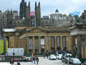The Scottish National Gallery in Edinburgh