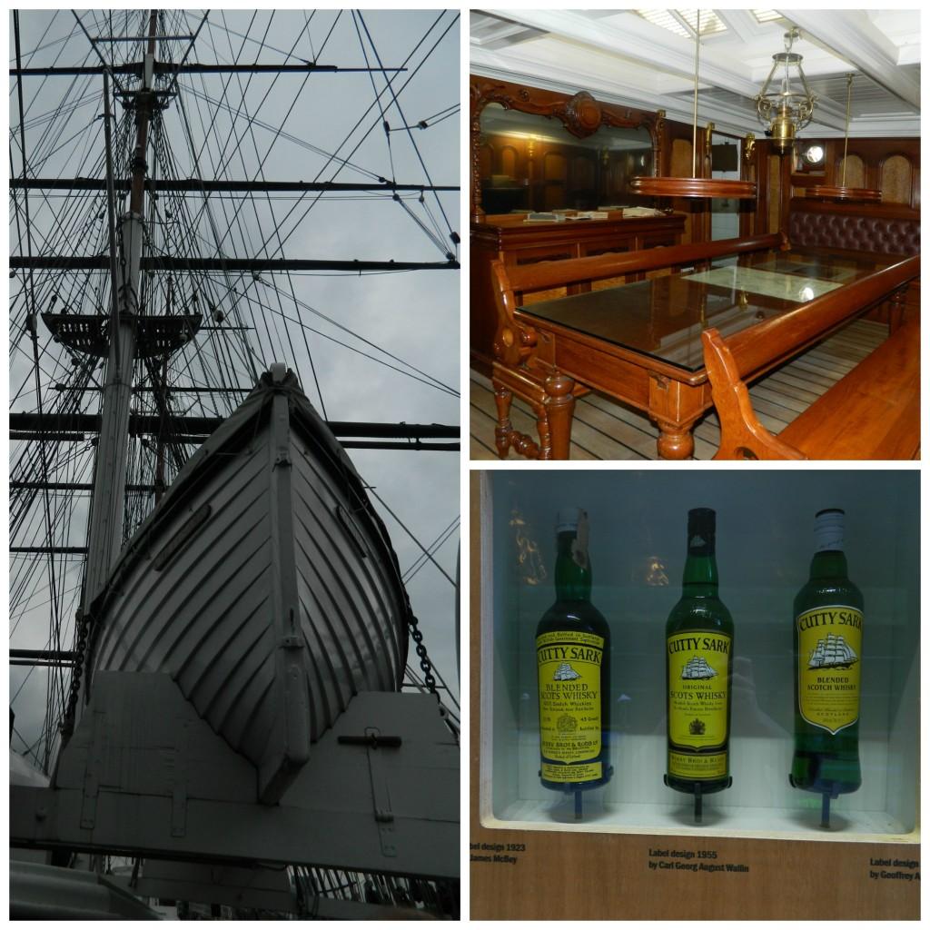 Cutty Sark ship in Greenwich, England
