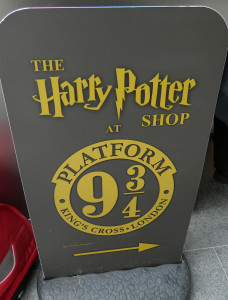 Harry Potter's Platform 9 3/4 in London
