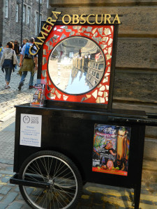 Camera Obscura in Edinburgh, Scotland