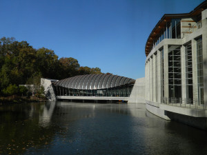 Crystal Bridges Museum in Bentonville, Arkansas