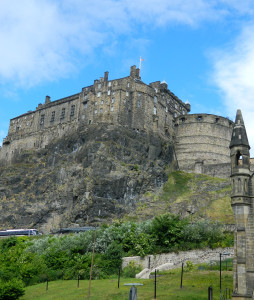 The Ediburgh Castle in Scotland