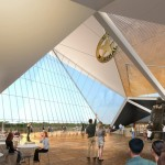 Interior rendering of the U.S Marshals Museum
