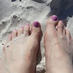 Deborah Brauser at Clearwater Beach, Florida