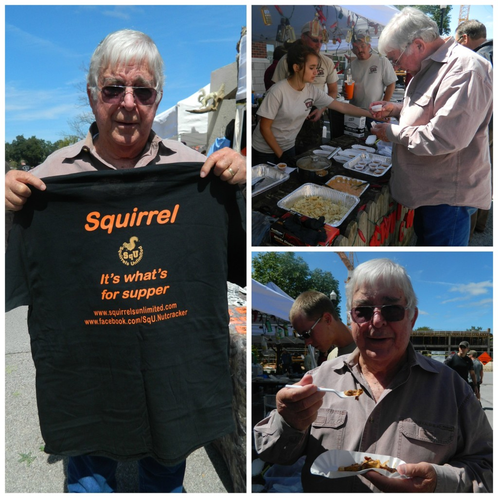 My Dad - he loved the squirrel!