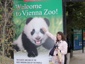 Vienna Zoo at Schonbrunn Palace in Austria