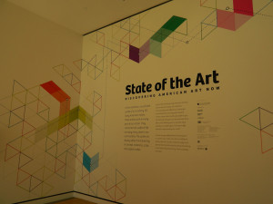 State of the Art Exhibit at Crystal Bridges Museum