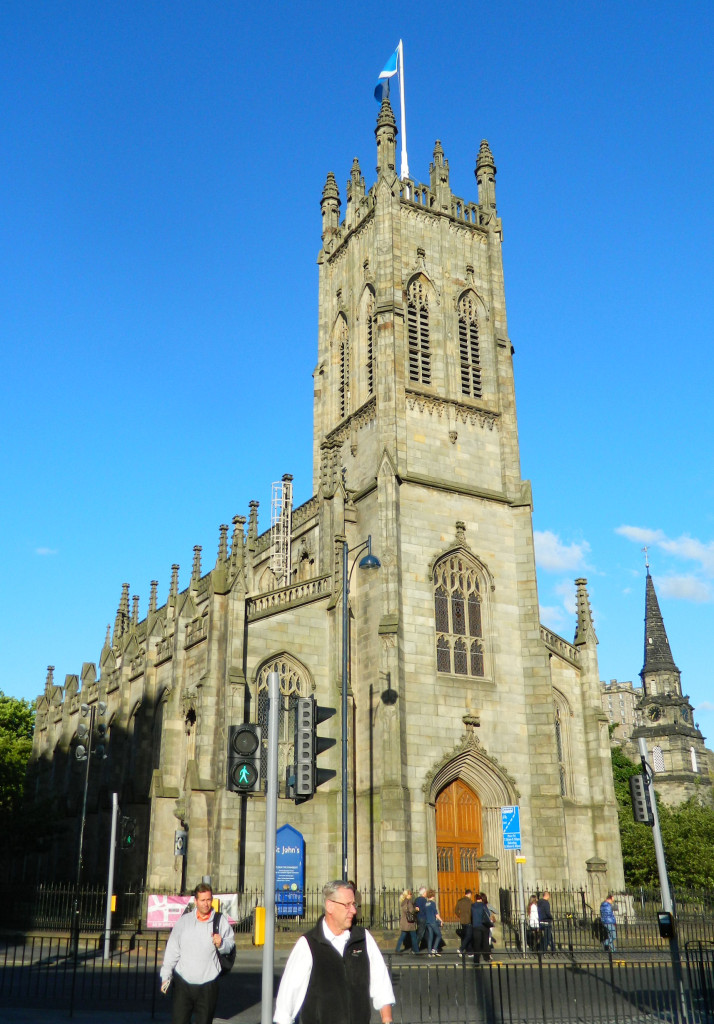 St. John's Church in Edinburgh, Scotland