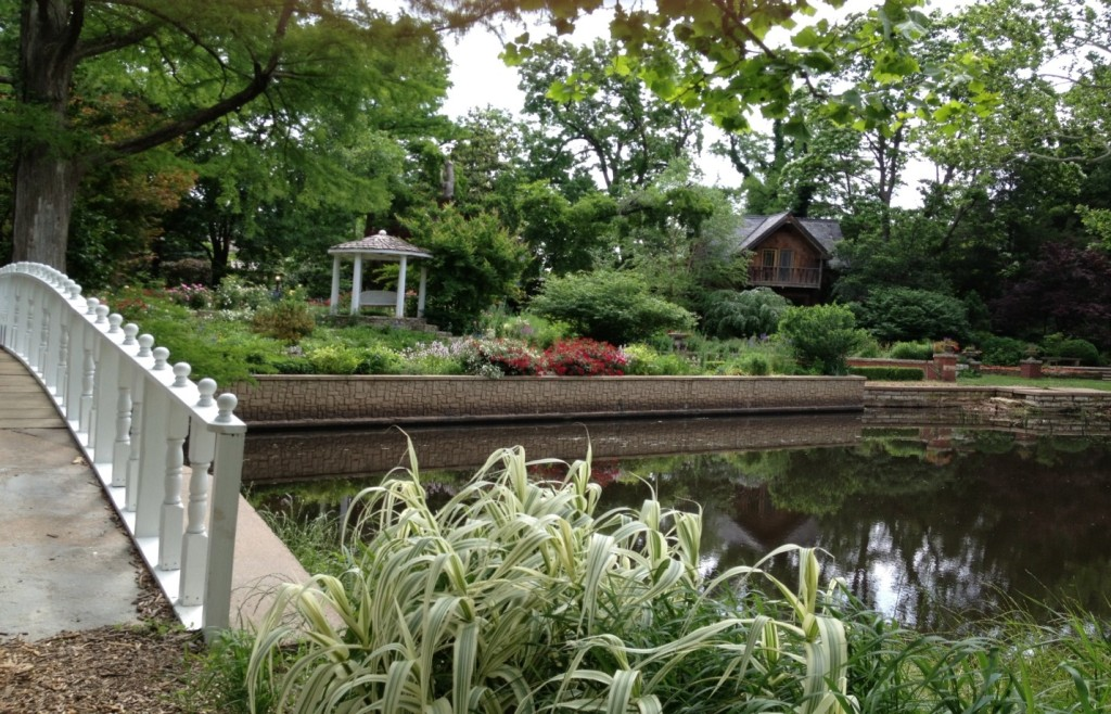 Bartlett Arboretum in Belle Plaine, Kansas