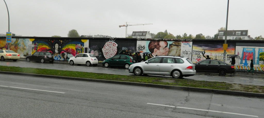 East Side Gallery, Berlin Wall, Germany