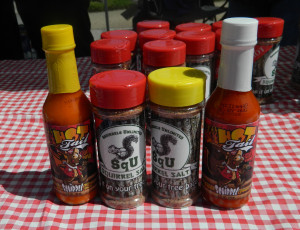 Squirrel salt and hot sauce - for the serious squirrel fan
