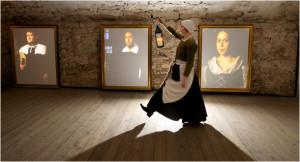 The interactive Gallery Room, courtesy of Real Mary King's Close