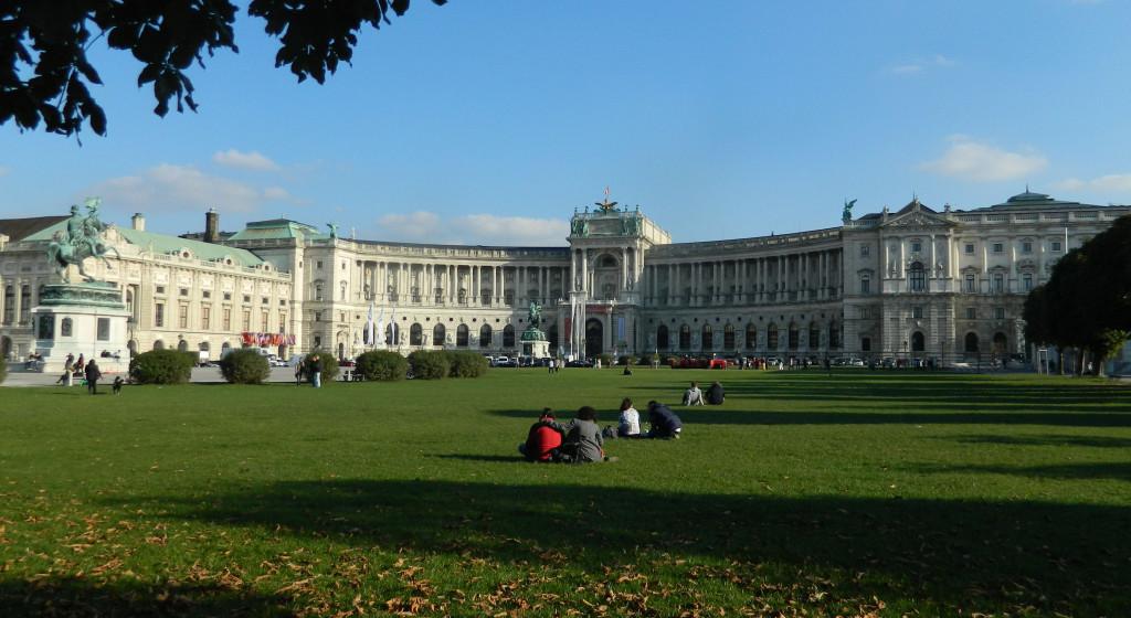 Hofburg Palace in Vienna, Austria