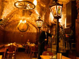 Twelve Apostles' Cellar in Vienna, Austria