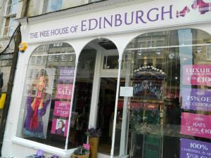 A shop in Edinburgh, Scotland