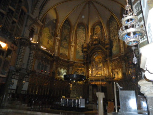 Basilica Sanctuary at Montserrat