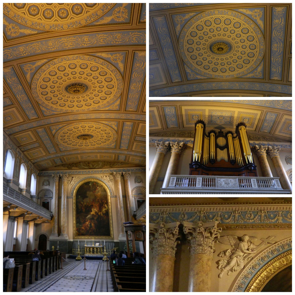 Chapel at Old Royal Naval College in Greenwich, England
