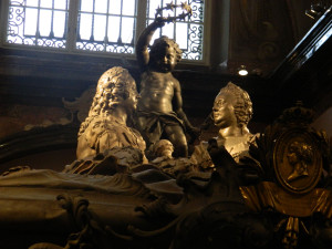 The Imperial Crypt, or Kaisergruft, in Vienna, Austria