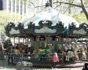 Le Carrousel in Bryant Park in New York City