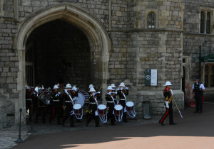 Royal Band at Windsor Castle
