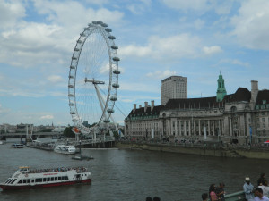 The London Eye in England