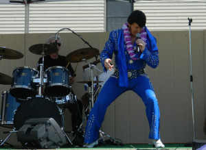 Elvis Tribute Artist Brent Giddens