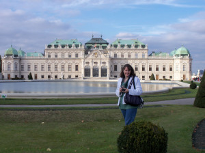 Belvedere Palace and Museum in Vienna, Austria