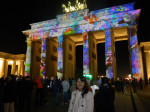 Brandenburg Gate at the Berlin, Germany Festival of Lights 2014