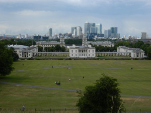 Old Royal Naval College in Greenwich, England