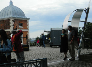 Meridian Courtyard at the Royal Observatory in Greenwich, England