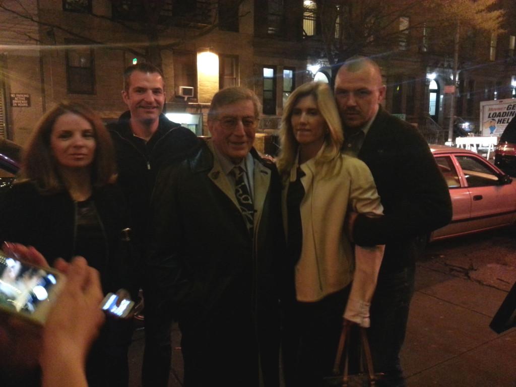 Tony Bennett at Don Giovanni Restaurant in New York City