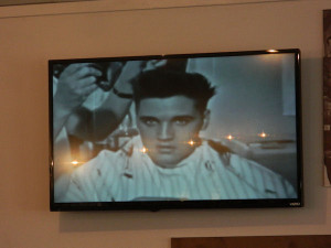 Elvis Haircut Day 2014 at Fort Chaffee