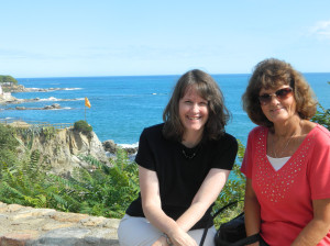 Us at Costa Brava in Spain