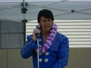 Brent Giddens, Elvis tribute artist,