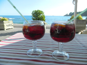 Chillin' with sangria